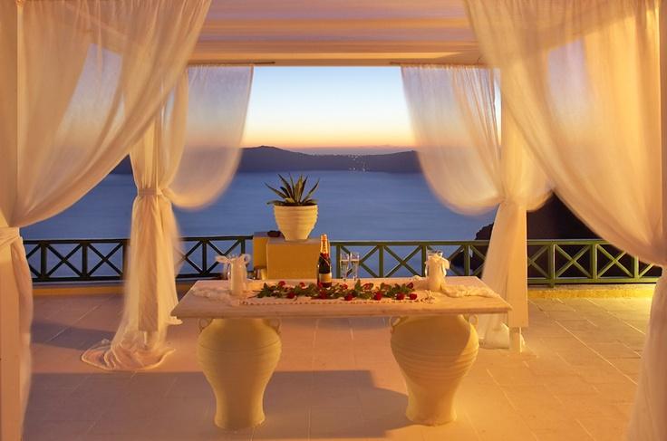 Dana Villas Santorini #wedding #location