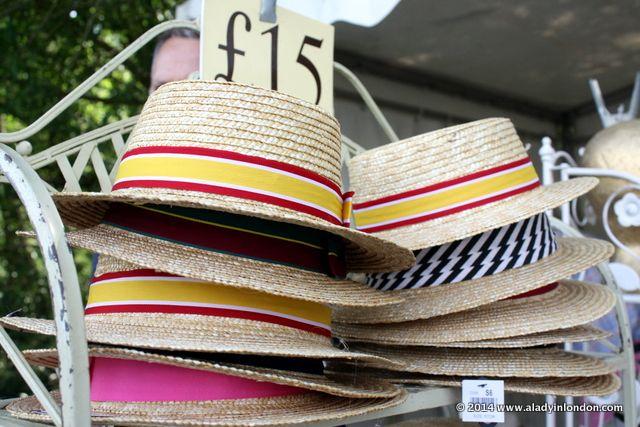 Hats at the Henley Royal Regatta