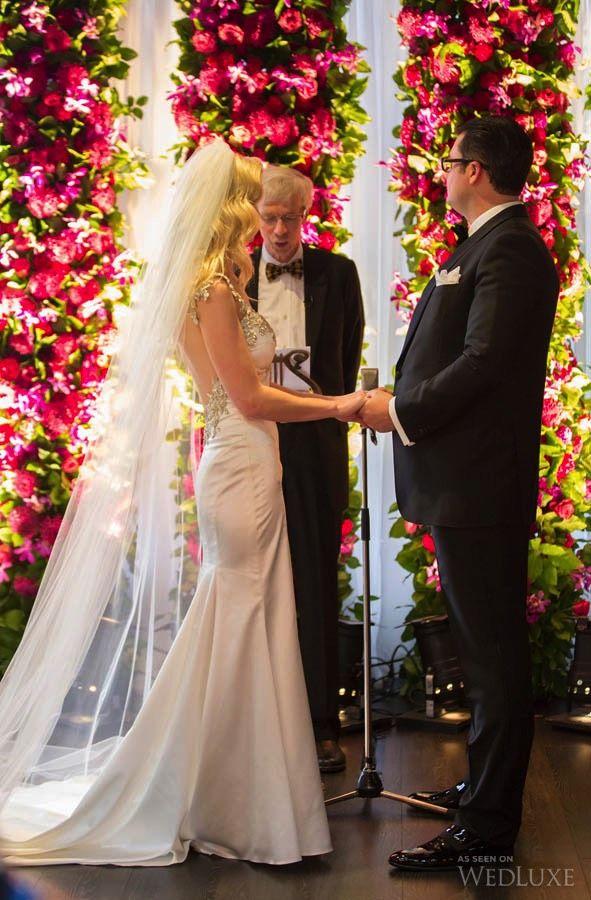 Alana & Andrew Oliver's sleek, downtown #Toronto #Wedding at #Arcadian #Loft | Photography by: Tory Lovekin