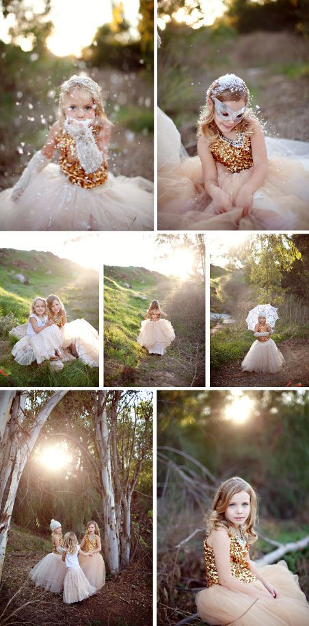 Want to do a fun princess feel photo shoot with maddie