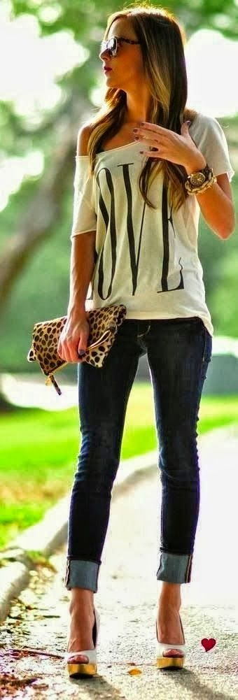 White Letter Print Short Sleeve One Shoulder Loose Casual Fashion T-Shirt