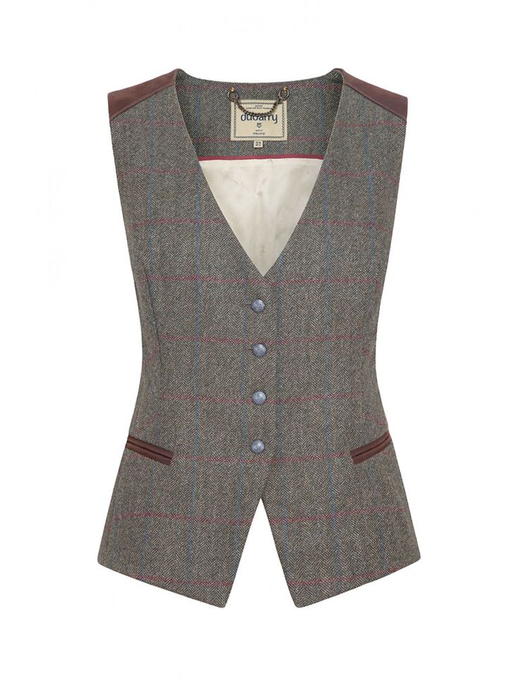 Dubarry Daisy Women's Tweed Waistcoat - New Styling