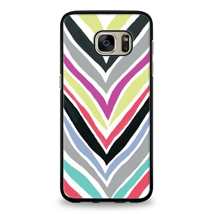 Colorfull Monogram Samsung Galaxy S7 Case | yukitacase.com