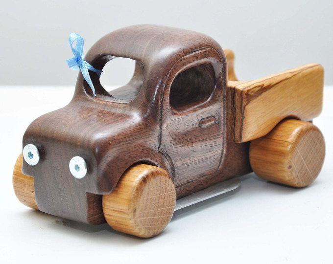Coche de madera, coche personalizado, regalo para el niño, coche, camión, juguete de madera, juguete para niño