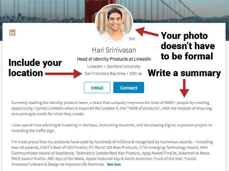 Best 25+ Linkedin page ideas on Pinterest Linkedin search - linkedin resume tips