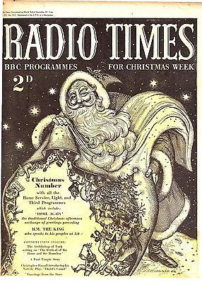 Radio Times Christmas Edition 1946 (22-28 December)