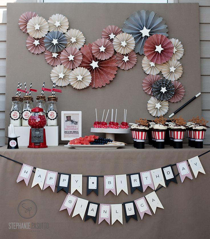 28 best Magic Party images on Pinterest | Birthdays, Birthday ...