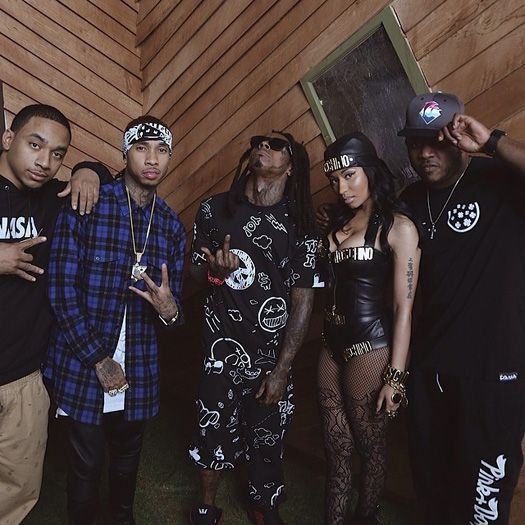 Tyga Says He Gets Inspired From Being Around Lil Wayne, Doesnt Get Along With Drake & Nicki Minaj