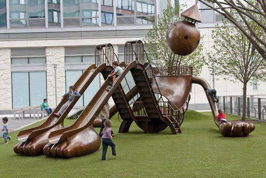Really cool playground