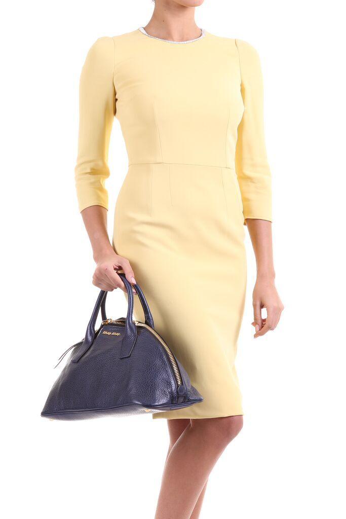 Dolce & Gabbana Dress & Miu Miu Bag!