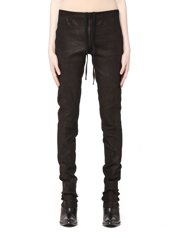 Leather leggings by Isaac Sellam — SVMoscow