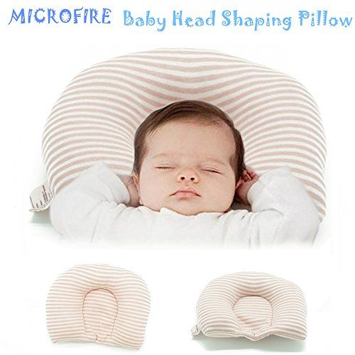 Newborn Baby Head Shaping Pillow Prevent Plagiocephaly or Flat Head Syndrome 100% Organic Natural Cotton (0-12 Months),also use in Baby Carriage and Baby Seat,neck-protector pillow  ❀U-shape pillow: correct and adjust the baby's sleeping posture to prevent Flat Head syndrome and reduce SIDS risks  ❀Filling: 100% Organic unbleached cotton sleeping pillow, natural and safety for your baby  ❀ Also use in Baby Carriage and Baby Seat  ❀Breathable and soft material, protecting your baby sens...