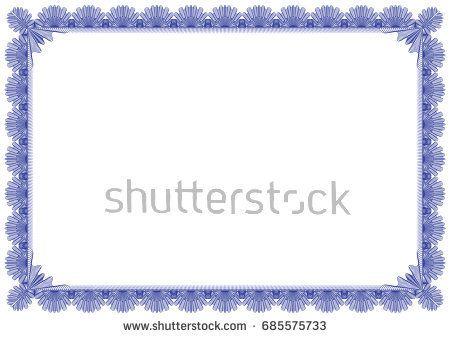 Classical Border Editable Vector