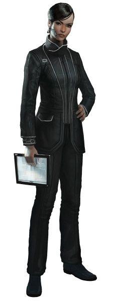 Corporation Uniform - The Secret World Concept Art
