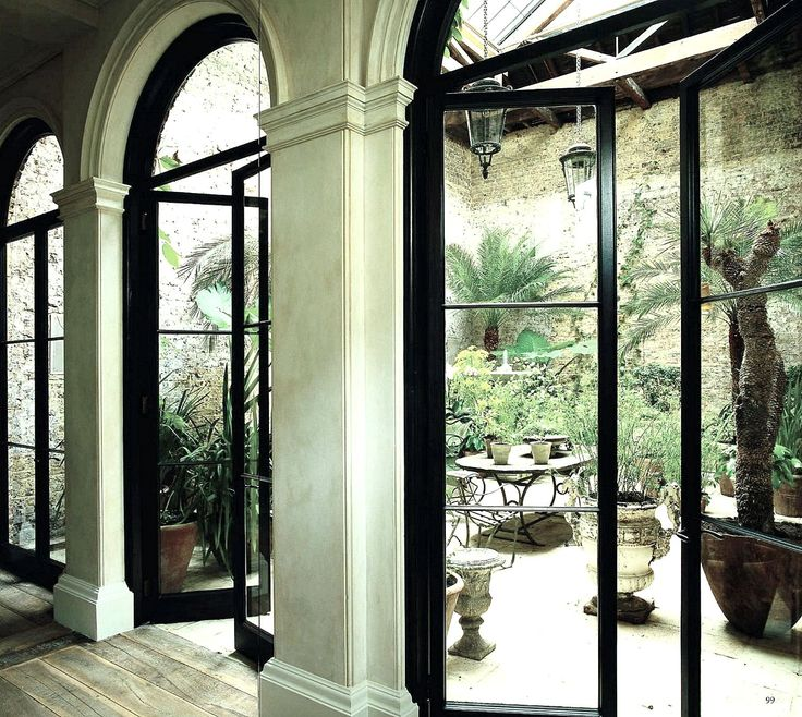 Black French Doors Patio 27 best garden -- solarium images on pinterest