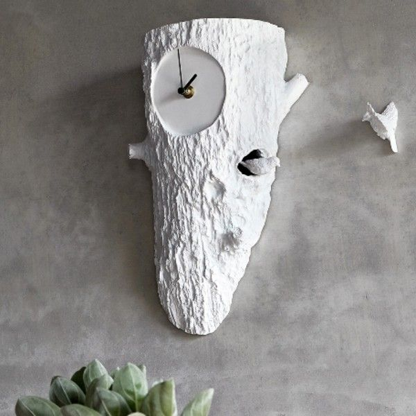 Unlike traditional cuckoo clock models this clock comes with two birds meeting each other at the hour, every hour.
