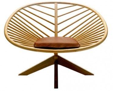Leaf chairs design. Πρωτότυπες καρέκλες σε σχήμα φύλλου | Small Things
