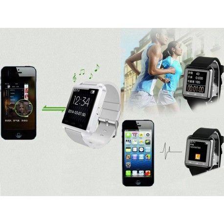 Sport-Santé Smart Watch qui peuvent se connecter avec la plupart des téléphones mobile uniquement système androïde.  Excellent rapport qualité prix.