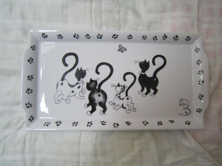 Les 25 meilleures id es de la cat gorie peinture porcelaine sur pinterest d - Peinture pour vaisselle ...