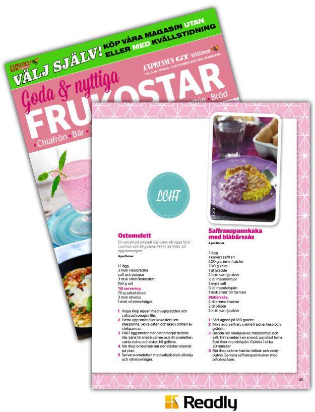 Tips om Goda & Nyttiga Frukostar 26 augusti 2015 sidan 115