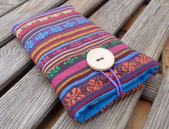 iPhone 6 Plus Pouch / iPhone 6 Fabric Case /  iPhone by Driworks