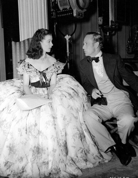 Leslie Howard and Vivien Leigh