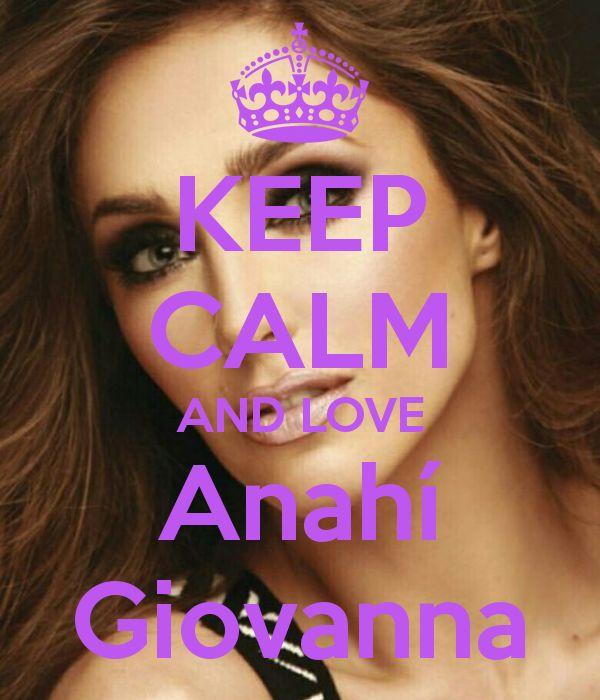 Keep calm: Anahí Giovanna (21)