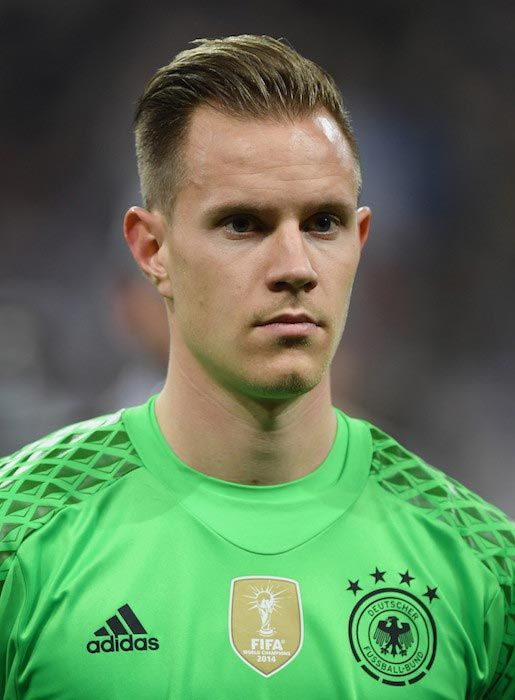 Marc-Andre Ter Stegen before an International Friendly match between Germany and Italy on March 29, 2016...