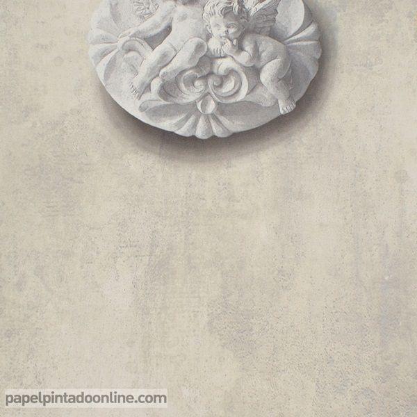 Papel pintado torino 68640 papel pintado essentially for Papel pintado para pintar castorama