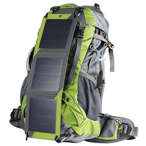 ECEEN® Solar Powered Backpack External Frame Hiking Bag Pack with Solar Charger Panel & 10000 mAh Power Bank for Cell Phones, Tablets, Digital Cameras Etc. 5v Device Charge *** FIND OUT @ http://www.buyoutdoorgadgets.com/eceen-solar-powered-backpack-external-frame-hiking-bag-pack-with-solar-charger-panel-mah-power-bank-for-cell-phones-tablets-digital-cameras-etc-5v-device-charge-10000/?a=6619