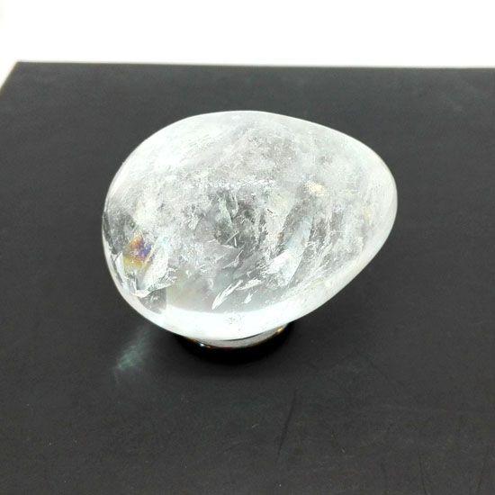 ΑΥΓΟ ΛΕΥΚΟΣ ΧΑΛΑΖΙΑΣ με Λευκο Χαλαζια σε σχημα Αυγου υψους 45 mm και μεσου πλατους 30 mm | ΗΜΙΠΟΛΥΤΙΜΟΙ ΛΙΘΟΙ | Crystal Pepper