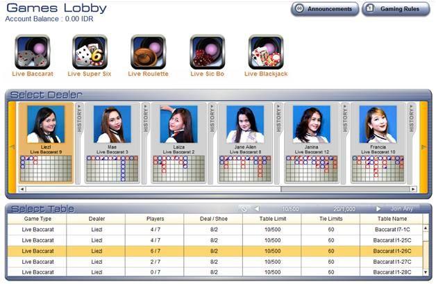 Untuk dapat bermain live casino online di Sbobet, tentunya anda diharuskan memiliki ID/akun yang ada terlebih dahulu. Pembuatan atau pendaftaran ID atau akun Sbobet ini dapat dilakukan melalui agen…