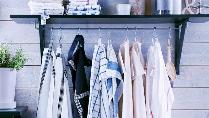 des rangements malins pour agrandir les petites cuisines id es pinterest rangement. Black Bedroom Furniture Sets. Home Design Ideas