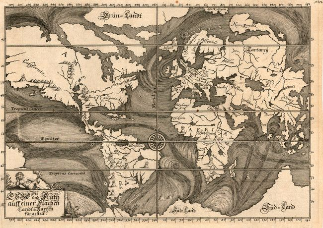 As people became more aware of the world, their maps changed. Their world became larger...and smaller.