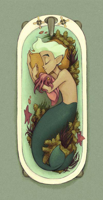 Cuddlefish Art Print by Kecky