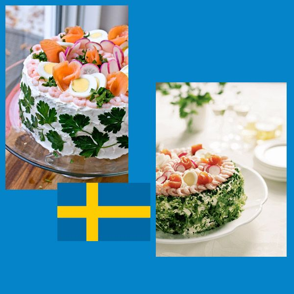 Smorgarstarta .. la Torta Sandwich del Natale svedese per voi su Cucina Italiana e Dintorni. http://blog.giallozafferano.it/cucinaitalianaedintorni/smorgarstarta-ovvero-torta-sandwich/