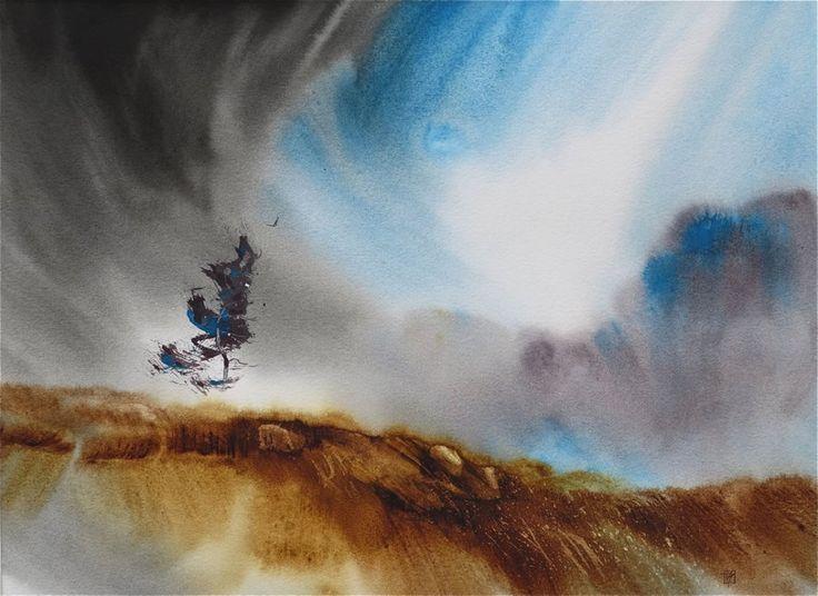 Tony Smibert: Inner Peace amazing abstract landscape