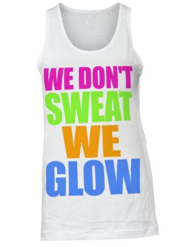 Glow Run shirts!!!!