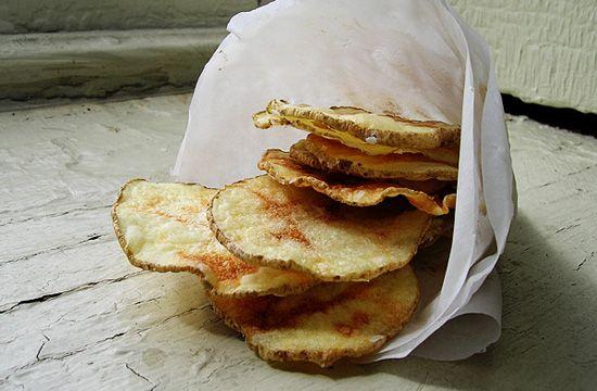 Рецепт домашних картофельных чипсов из микроволновой печи
