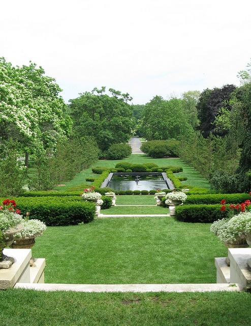 East Lawn, Robert McCormick Estate at Cantigny, Wheaton, Illinois