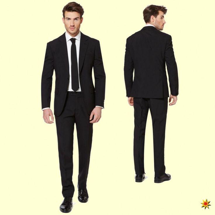Opposuit Black Knight - Schwarzer Anzug