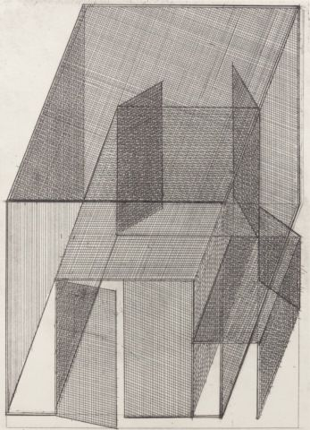 KOLÍBAL STANISLAV (*1925) Geometrie prostoru, 2007