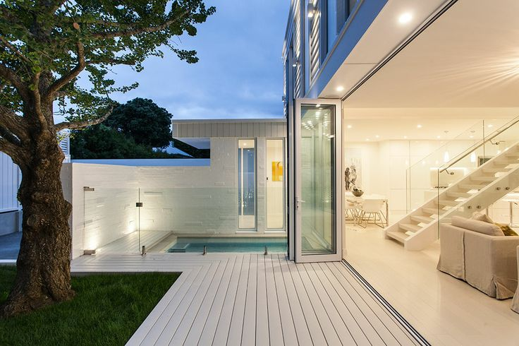 Seamless indoor outdoor connection