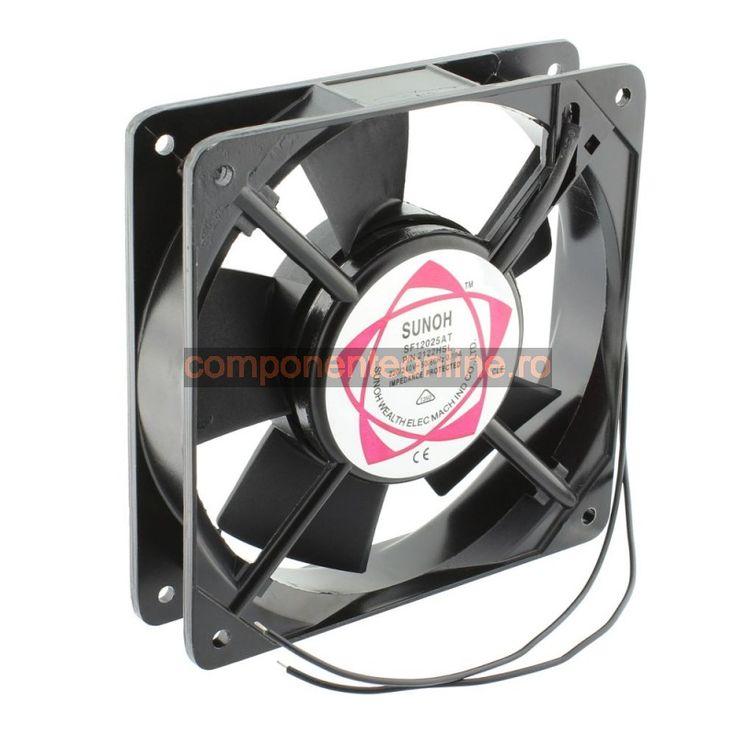 Ventilator 120x120x25mm, 220V AC - 118318