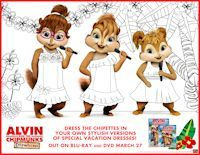 Printables: Alvin and the Chipmunks: Chipwrecked Activity Sheets, Postcards, Easter Cards  Posted by Connie - March 30, 2012 - Easter, Party Supplies & Ideas  1  Celebrate the newly released  Alvin and the Chipmunks: Chipwrecked DVD or Blu-ray  with these fun and free downloadables and printables themed with your favorite Chipmunks ready for a tropical vacation.  Send cards or print fun activities  - enjoy!: Easter Card