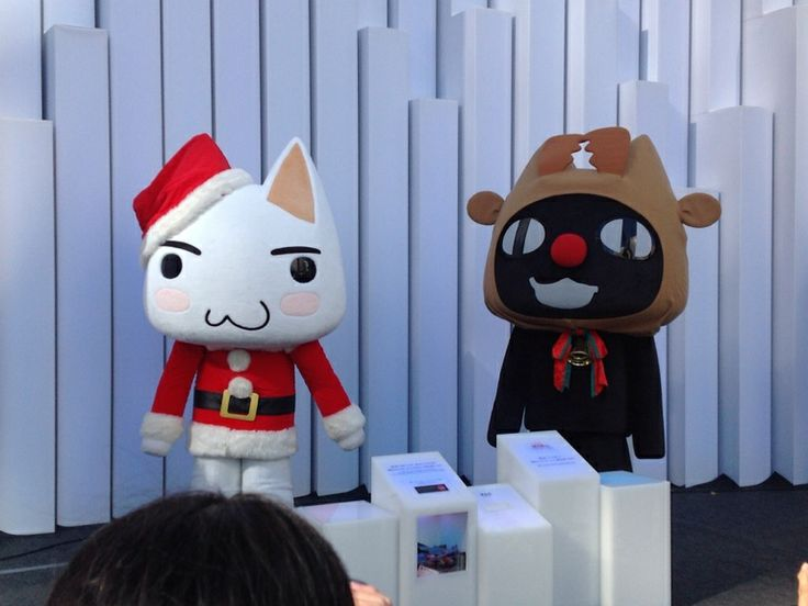 Inoue-Toro and Kuro / 井上トロ と クロ #Japan #Character #Mascot #どこでもいっしょ