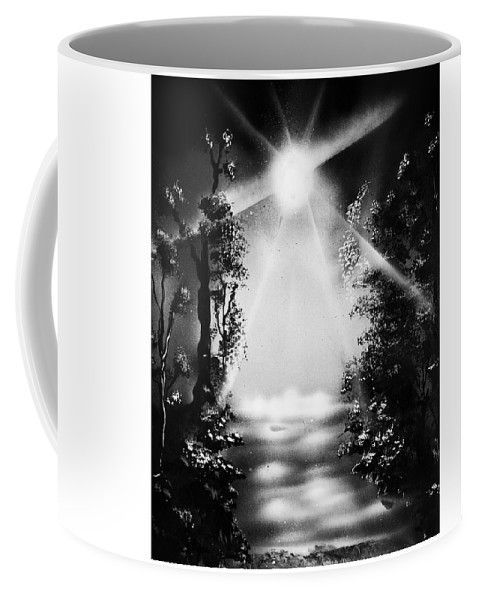 Awakening Dream Cofee Mug Printed with Fine Art spray painting image Awakening Dream Nandor Molnar (When you visit the Shop, change the size, background color and image size as you wish)