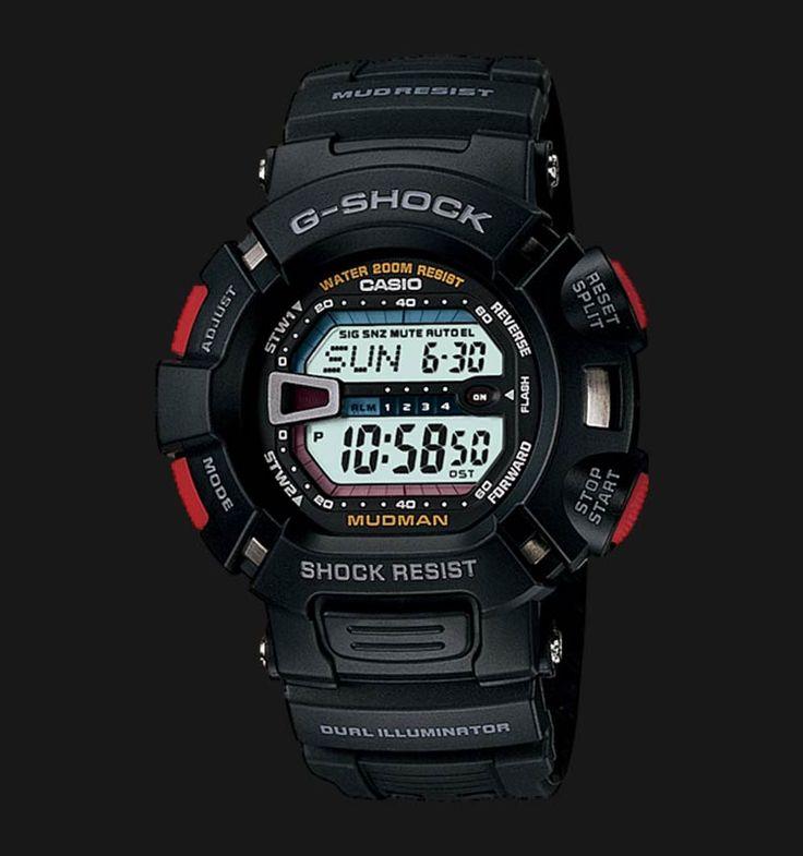 Beli jam tangan Casio G-Shock MUDMAN G-9000-1VDR - Daftar Harga jam termurah, review, spesifikasi lengkap Indonesia di Jamtangan.com