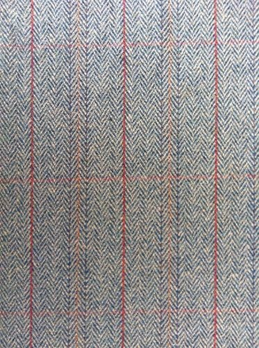100% PURE NEW WOOL CLASSIC HERRINGBONE TWEED FABRIC | eBay