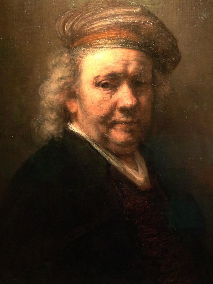 Rembrant - Self portrait.Mauritshuis -  The Hague Netherlands.